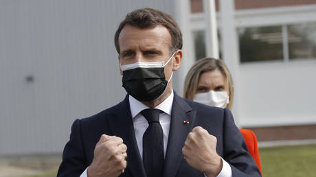 President Macron has banned domestic flights in France which could be completed in under 2.5 hours by train