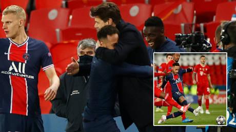 Neymar and Paris Saint Germain progressed in the Champions League against Bayern Munich © Christian Hartmann / Reuters
