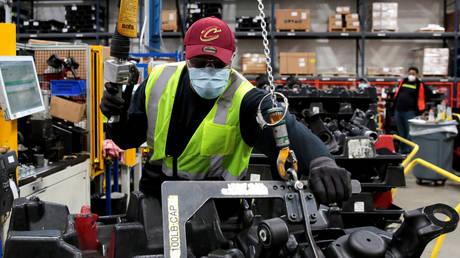 FILE PHOTO: The Dana plant in Toledo, Ohio, US