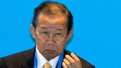 Toshihiro Nikai, Secretary General of the Japanese Liberal Democratic Party © REUTERS /Ng Han Guan