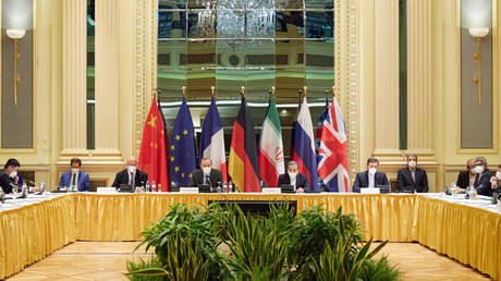 The Joint Comprehensive Plan of Action meeting held to revive the nuclear deal in Vienna, Austria on April 15, 2021