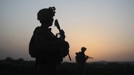 FILE PHOTO. U.S. soldiers on July 18, 2009 in Herati, Afghanistan . © Getty Images /  Joe Raedle