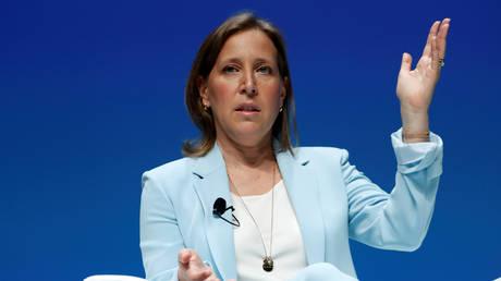 FILE PHOTO. YouTube CEO Susan Wojcicki © Reuters / ERIC GAILLARD