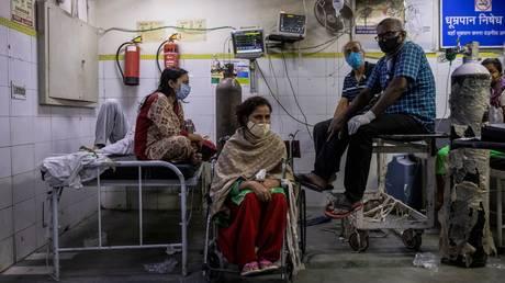 Lok Nayak Jai Prakash hospital, New Delhi, India April 15, 2021. © Reuters / Danish Siddiqui