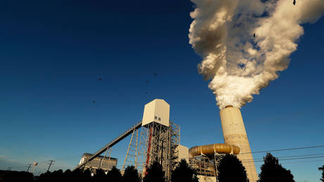 A view of Duke Energy's Marshall Power Plant in Sherrills Ford, North Carolina, US (FILE PHOTO) © REUTERS/Chris Keane