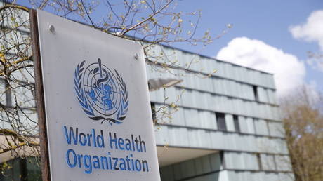 FILE PHOTO. World Health Organization in Geneva, Switzerland. © Reuters / Denis Balibouse