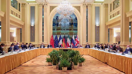 A meeting of the JCPOA Joint Commission in Vienna, Austria April 17, 2021