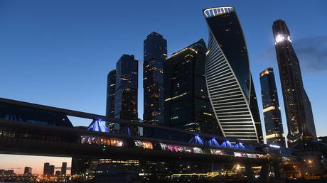 FILE PHOTO: The Moskva City International Business Center, Moscow, Russia © Sputnik / Kirill Kallinikov