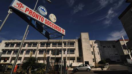 FILE PHOTO. The Pugliese-Ciaccio Hospital . ©Mollo / Fotogramma via Global Look Press