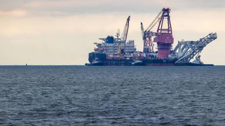 "FILE PHOTO: The Russian pipe-laying vessel ""Fortuna,"" Wismar, Germany © Global Look Press / Jens Büttner"