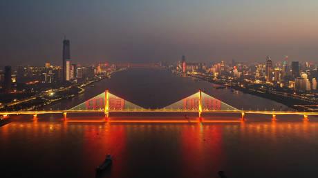 FILE PHOTO:  Wuchang District of Wuhan, China's Hubei Province © Global Look Press / Xinhua / Zhao Jun