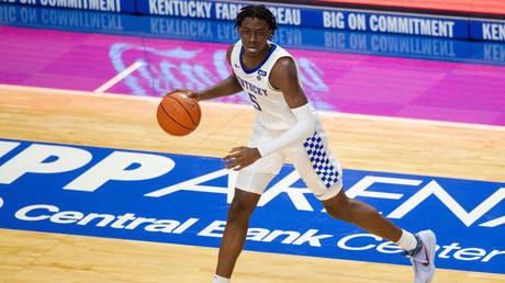 Kentucky Wildcats guard Terrence Clarke (5) © REUTERS / Jordan Prather