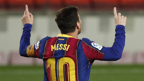 Barcelona hope to keep Messi for a few more years.  © Reuters