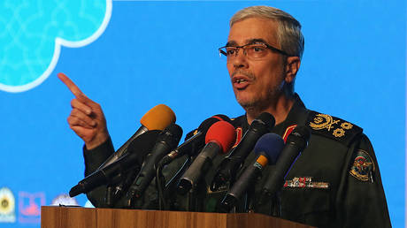 Iranian Armed Forces Chief of Staff Major General Mohammad Bagheri © AFP / Atta Kenare