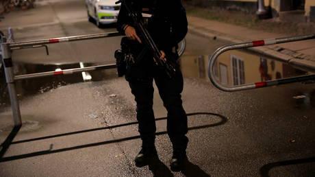 FILE PHOTO. Danish police in Copenhagen, Denmark