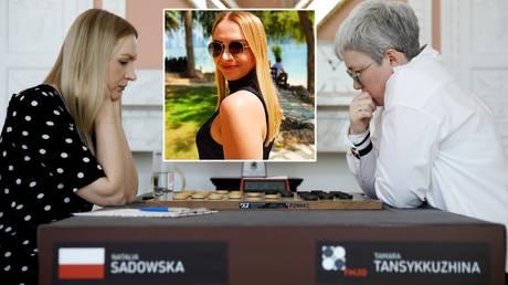 Draughts superstars Natalia Sadowska (left) and Tamara Tansykkuzhina © Kacper Pempel / Reuters | © Instagram / _natalia_sadowska
