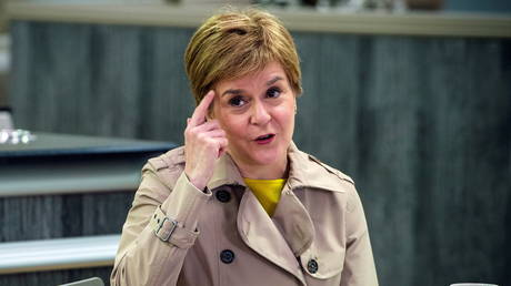 Scotland's First Minister and leader of the Scottish National Party (SNP) (FILE PHOTO) © Andy Buchanan/Pool via REUTERS