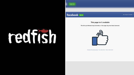 (L) © Redfish logo (R) Screenshot © Facebook