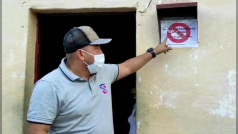 Venezuela: Bürgermeister hat Häuser markieren lassen in denen Covid infizierte Menschen leben