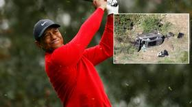 Questions remain as investigators REFUSE to reveal cause of Tiger Woods SUV crash... unless golf star says so