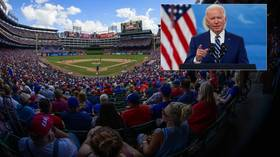 'It's a one-time event': Texas Rangers exec bites back after Biden brands decision to allow full stadium 'a mistake'
