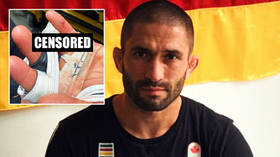 'He didn't even flinch': Former Olympian Khetag Pliev loses FINGER in MMA fight, asks crowd to help him find it (GRAPHIC PHOTOS)