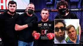 'I'm grateful': Magomed Magomedov hails Khabib Nurmagomedov & Zabit Magomedsharipov after choking opponent at Bellator 255 (VIDEO)