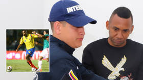 Ex-Premier League ace who played in Messi exhibition game cops 11 years in jail for smuggling $29MN of cocaine from Colombia to US