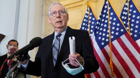Twitter cries foul after McConnell calls big business 'woke parallel government' for leaning on Georgia over election law