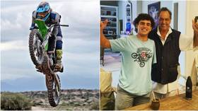 One-armed motocross rider dies aged 23 after being run over by two competitors during race