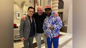 'WTF is going on here?': UFC boss White and boxing icon Mayweather spark speculation frenzy after sharing photo of meeting