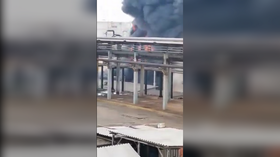 EXPLOSION and fire rock Mexican oil refinery in Veracruz state (VIDEO)