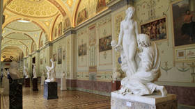 Russia's Hermitage receives official complaint over naked sculptures after suggestion kids could be 'corrupted,' says museum head