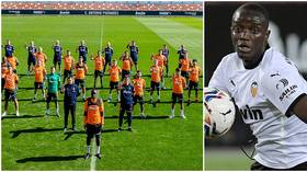 Valencia REFUSE to back down over racism claims despite probe finding NO PROOF that Cadiz star called rival 'sh*tty black'