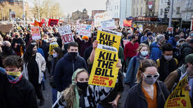 Police say dozens arrested, 10 officers injured at 'policing operation' – aka 'Kill the Bill' protests