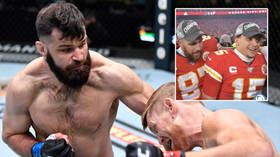 'I'm the baddest man from Kansas City': UFC bruiser Marquez calls out NFL stars Mahomes, Kelce in BADMINTON challenge (VIDEO)
