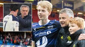 'I laughed a lot': Man United boss Solskjaer's son calls Jose Mourinho a bad loser over Spurs spat, confirms he 'always gets food'