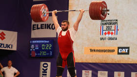 Weightlifting champ Simon Martirosyan 'kills man in car crash' in Armenia days after setback at European Championships in Moscow