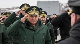 Russian troops on Ukraine border 'ready to defend country' in event of war says Defense Minister Shoigu, warning of NATO buildup
