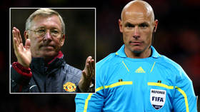 'Was Fergie best man?' World Cup final ref marries German lover who is also an official – and fans mock him with Man United jokes