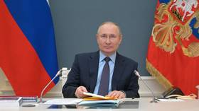 Russia's Putin gets booster shot of domestically produced Covid-19 vaccine, three weeks after receiving injection of first dose