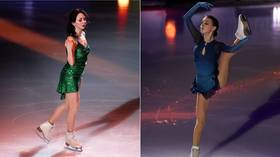 Russia takes lead at figure skating World Team Trophy as Shcherbakova & Tuktamysheva dominate women's field
