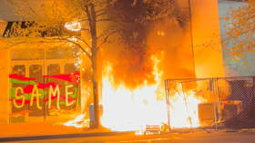 Portland rioters torch Apple store as another police killing sparks wave of destruction (VIDEOS)