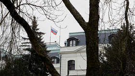 Czechs announce expulsion of 18 Russian diplomats, as Prague claims 'intel officers' involved in 2014 munitions depot explosion