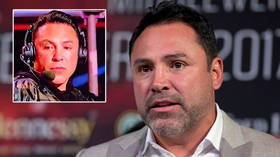 'He needs to stop': Fears for De La Hoya after boxing champ slurs his way through big fight commentary gig, rants about comeback