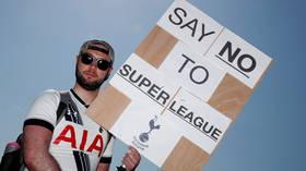 Breakaway European Super League bad news for fans & 'very damaging for football', UK PM Boris Johnson says