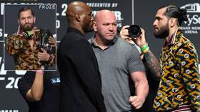 Dana White & Florida governor proclaim 'OASIS OF FREEDOM' as UFC returns for full house for FIRST TIME since pandemic struck