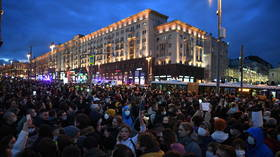 122 foreigners banned by Russian officials from entering country for FORTY years after attending unauthorized protests in capital
