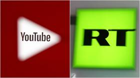 YouTube blocks videos & hands strikes to RT's English & German channels over alleged Covid-19 disinformation