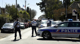 French police administrative officer fatally stabbed, suspect shot dead at the scene